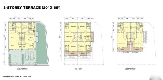 Sunway Cassia - Floor Plan